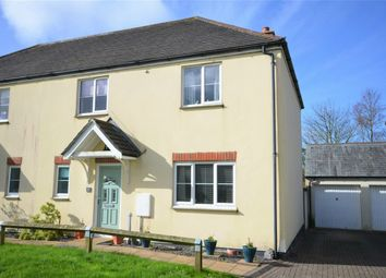 Thumbnail 3 bed semi-detached house for sale in St Francis Meadow, Mitchell, Newquay, Cornwall