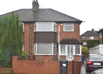 Thumbnail 3 bed semi-detached house for sale in Hazel Road, Manchester
