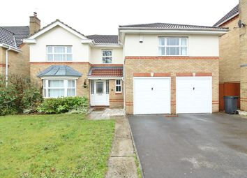 Thumbnail 5 bed detached house for sale in Priory Crescent, Langstone, Newport