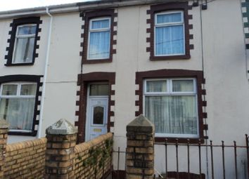 Thumbnail 3 bed terraced house to rent in Wyndham Street, Ogmore Vale, Bridgend.