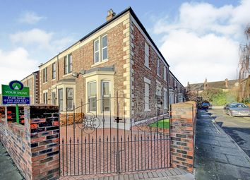 Thumbnail 3 bed end terrace house for sale in Lovaine Avenue, North Shields, Tyne And Wear