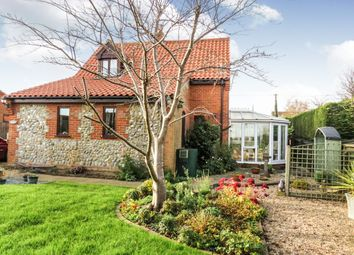 Thumbnail 3 bed detached house for sale in Church Street, Gimingham, Norwich