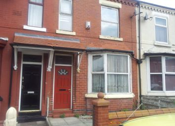 Thumbnail 4 bedroom terraced house to rent in Great Western Street, Rusholme, Manchester
