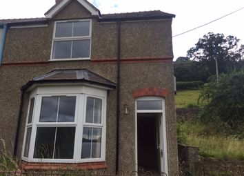 Thumbnail 3 bed end terrace house to rent in Glyndyfrdwy, Corwen