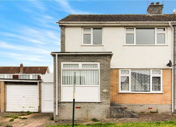 Thumbnail 3 bed semi-detached house to rent in Lea Combe, Axminster, Devon