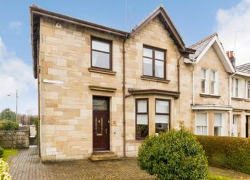 Thumbnail 4 bed end terrace house for sale in Mossgiel Road, Glasgow, Lanarkshire