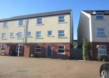 Thumbnail 4 bedroom end terrace house for sale in Lancaster Gate, Upper Cambourne, Cambridge