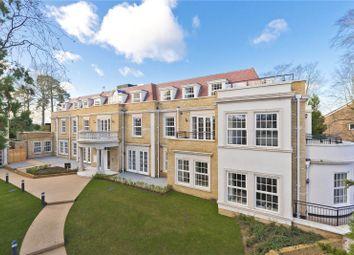 Thumbnail 2 bed flat for sale in Ridgewood, Brooklands Road, Weybridge, Surrey