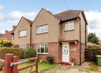 Thumbnail 3 bed semi-detached house for sale in Southdown Road, Hersham, Walton-On-Thames
