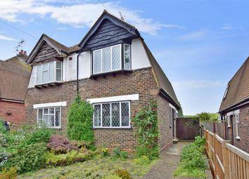 Thumbnail 2 bed semi-detached house for sale in Hawthorne Avenue, Gillingham, Kent