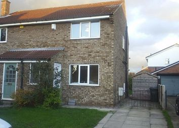Thumbnail 3 bed semi-detached house to rent in Willow Rise, Thorpe Willoughby, Selby