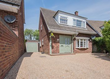 Thumbnail 3 bed detached house for sale in Poplar Drive, Royston