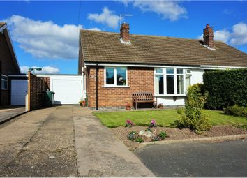 Thumbnail 3 bedroom semi-detached bungalow for sale in Elm Close, Keyworth