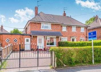Thumbnail 2 bedroom semi-detached house for sale in Millstone Avenue, Talke, Stoke-On-Trent