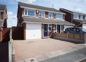 Thumbnail 3 bedroom semi-detached house for sale in Curland Place, Stoke-On-Trent