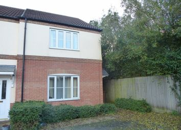 Thumbnail 2 bedroom end terrace house for sale in Trotwood Mews, Wisbech