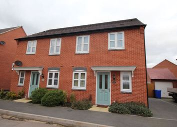 Thumbnail 3 bed semi-detached house for sale in Perle Road, Burton-On-Trent