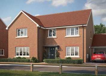 "Thumbnail 5 bed property for sale in ""The Tindall"" at Buckingham Road, Steeple Claydon, Buckingham"