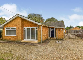 Thumbnail 4 bed detached bungalow for sale in Main Road, Brookville, Thetford