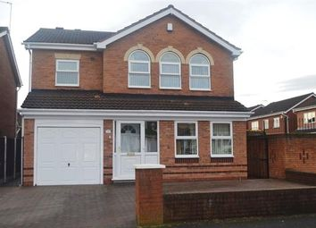 Thumbnail 4 bed detached house for sale in Weston Drive, Bilston