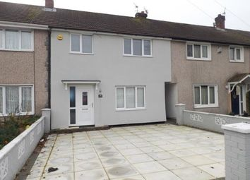 Thumbnail 3 bed terraced house for sale in Frodsham Drive, St Helens, Merseyside, Uk