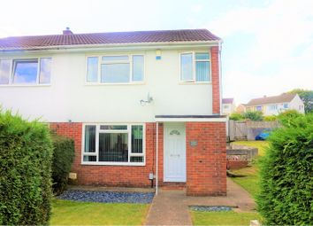 Thumbnail 3 bed semi-detached house for sale in Lon Brynawel, Llansamlet