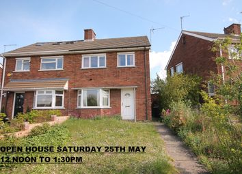 Thumbnail 2 bedroom semi-detached house for sale in Queens Drive, Putnoe, Bedford