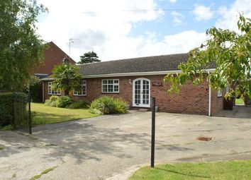Thumbnail 3 bed bungalow for sale in Field Lane, Ewerby, Sleaford
