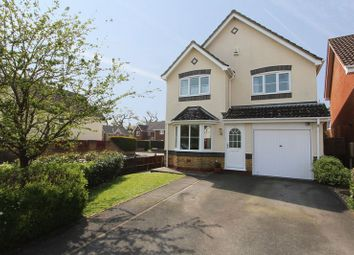 Thumbnail 4 bedroom detached house for sale in Hedgerow Close, Rownhams, Southampton