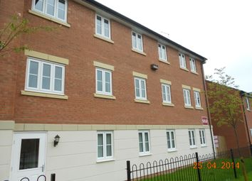 Thumbnail 2 bed flat to rent in John Clare Close, Oakham