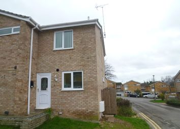 Thumbnail 1 bed semi-detached house to rent in Harlech Avenue, Caversham, Reading