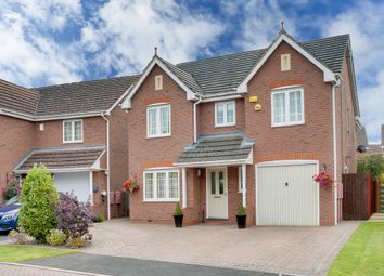 Thumbnail 4 bed detached house for sale in Tower Drive, Woodland Grange, Bromsgrove