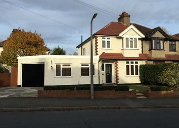 Thumbnail 4 bed semi-detached house for sale in Lumley Road, Cheam