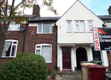 Thumbnail 2 bedroom terraced house for sale in Balcary Grove, Bolton, Greater Manchester