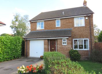 Thumbnail 4 bed detached house for sale in King Alfred Close, North Petherton, Bridgwater