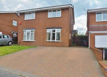 Thumbnail 2 bed semi-detached house to rent in Larkin Avenue, Meir Hay, Stoke-On-Trent