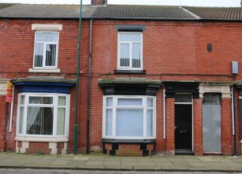 Thumbnail 3 bedroom terraced house to rent in Cromwell Road, South Bank, Middlesbrough