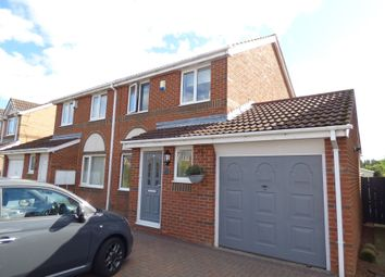 Thumbnail 3 bed semi-detached house for sale in Meadowbank Drive, Choppington