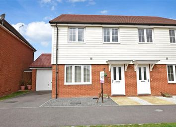Thumbnail 3 bed semi-detached house for sale in Henry Lock Way, Littlehampton, West Sussex