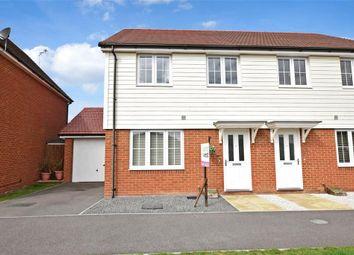 Thumbnail 3 bedroom semi-detached house for sale in Henry Lock Way, Littlehampton, West Sussex