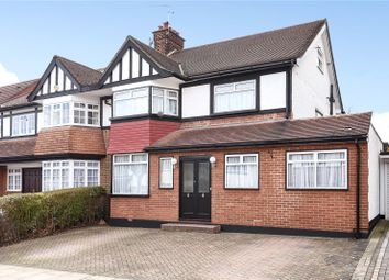 Thumbnail 5 bed semi-detached house for sale in Highview Avenue, Edgware, Middlesex
