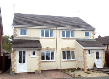 Thumbnail 3 bed semi-detached house for sale in Cwrt Y Carw, Margam Village, Port Talbot, Neath Port Talbot.