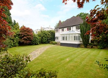 Thumbnail 4 bed detached house to rent in Carrwood Road, Wilmslow, Cheshire