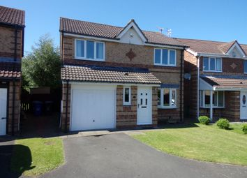 Thumbnail 3 bedroom detached house for sale in Brunton Way, Cramlington