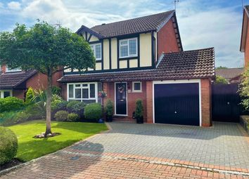 Thumbnail 4 bed detached house for sale in Northfield, Lightwater, Surrey