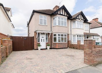 Thumbnail 3 bed semi-detached house for sale in Senhouse Road, Cheam, Surrey