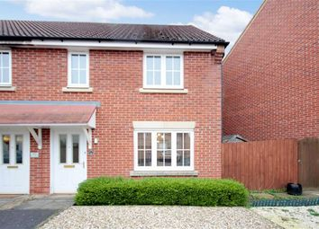 Thumbnail 2 bed end terrace house for sale in Canberra Road, Wroughton, Swindon