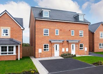 "Thumbnail 4 bedroom semi-detached house for sale in ""Woodcote"" at Prior Deram Walk, Coventry"