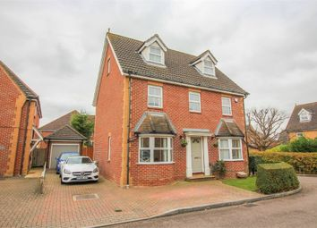 Thumbnail 5 bed detached house for sale in Chelsea Gardens, Church Langley, Harlow, Essex