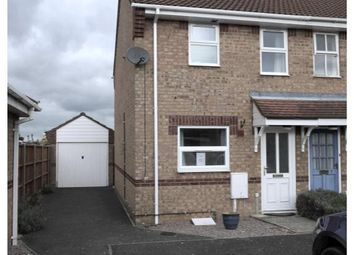 Thumbnail 2 bedroom end terrace house to rent in Blackthorn Close, Deeping St. James, Peterborough